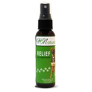 Relief For Pets Essential Oil Blend