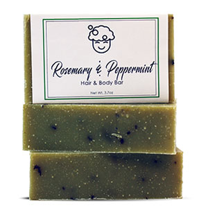Rosemary & Peppermint Bar