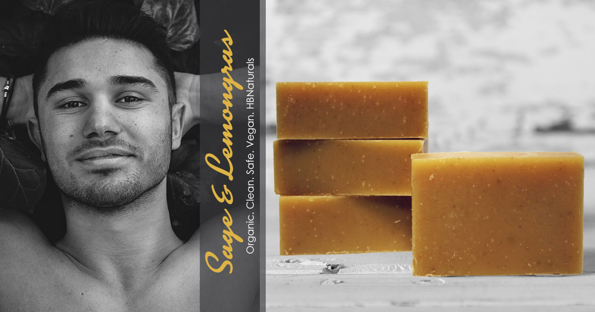 Sage & Lemongrass Hair & Body Bar